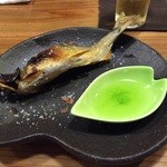 梨門邸 - 鮎の塩焼き