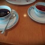鉄板焼 さざんか - ホットコーヒー、紅茶