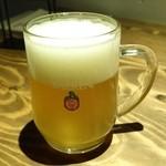 ビアバー ベアレン 中ノ橋 - ベアレンジョッキ620円(岩手の小麦ビール)