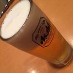 41339925 - 仲見世ハシゴしナイト(1品と1杯で750円相当)の生ビール2015年8月