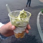 ぐり茶の杉山 - ぐり茶ソフトクリーム