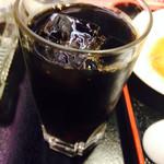 中華料理 栄海 - 食後のアイスコーヒーサービス