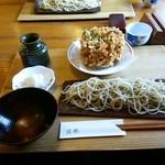 41342038 - かき揚げつきざる蕎麦¥1,400