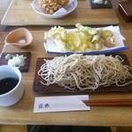 41342049 - 天ぷらつきざる蕎麦¥1,400