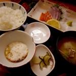 さわはら食事処 - 料理写真:刺身定食