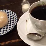 みつわ - 料理写真:2015.8 ダッチコーヒーと白みそまんじゅう