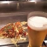 ひげぼうず - お好み焼き そば肉玉  700円