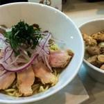 ふく流ラパス 分家 ワダチ - あさりラパスと鶏チャーシュー丼