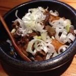 竹蔵 - 鳥のモツ煮込み 色々入り美味しい