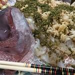 北京亭 - 中華風鯛の姿刺し