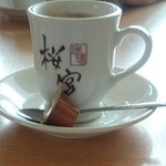 桜宮珈琲 - ホットコーヒー