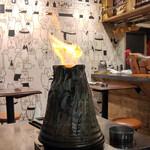 41350611 - 松坂ポークのボルケーノ焼き