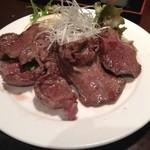 となりのしまだ 鱗 - 牛タン塩焼き(700円)