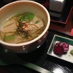 となりのしまだ 鱗 - お茶漬け(鮭)(380円)