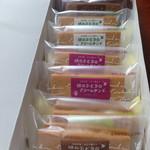 洋菓子工房 ぶどうの木 - みどりの葡萄のクリームサンド 中身