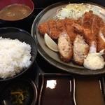 41352850 - ロースミックス定食