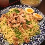 天理スタミナラーメン - 限定つけ麺 1.5玉