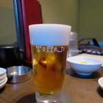 焼肉トラジ - 追加生ビール×3