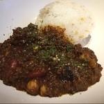 世田谷クミン - キーマカレエ ランチセットの前菜プレートもカレエも美味しい!