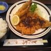 とんかつ加茂 - 料理写真:特ランチ(ロースカツ・エビフライ)・ご飯大盛り