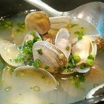 魚参 - アサリバター、スープが旨い。
