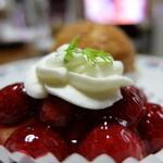 ウィーン菓子 シーゲル - キイチゴのタルトレット¥400