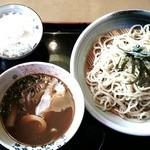 炭焼ちゃあしゅう大香房 - つけ麺 濃厚魚介だし(並盛):820円