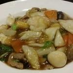 中華料理 菜香菜 - 五目焼きそば