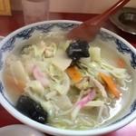 中華レストラン味一 - 会焼麵(チャンポン)