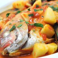 ピノサリーチェ - 本日の鮮魚の煮込み