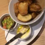 ワイエスシー スペースアンドカフェ ヨコハマ - おいもは二種のディップ