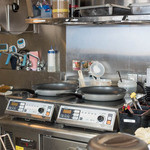 吉野家 - ふつうの吉野家ではなかなか目にすることができないキッチン内部