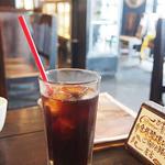 カーサベッキァ - Aセットのドリンク(アイスコーヒー)