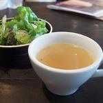 カーサベッキァ - Aセットのスープ
