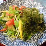 沖縄料理 かりゆし - 海ぶどうのサラダ