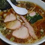 手打中華 特札堂 - ワンタン麺 大盛