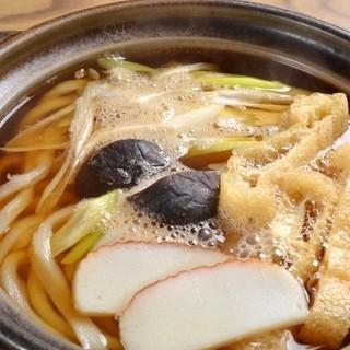 名古屋手打研究会。手打ちにしか出せない味をお楽しみください