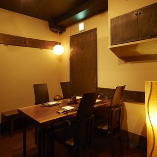 ◆落ち着いた店内◆西新宿超高層ビル群に佇む隠れ家です