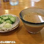 元祖武蔵野うどん めんこや - 2015年8月 冷汁
