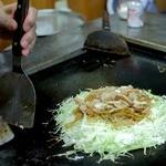 天神橋 - 料理写真:お好み焼き