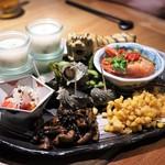黒猫夜 - 前菜盛り合わせ