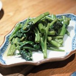 黒猫夜 - 空芯菜腐乳炒め