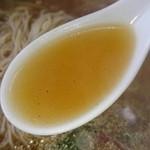 台南麺かちかち山 - 醤油清湯♪