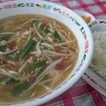 台南麺かちかち山 - 台南麺ランチ