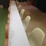 クレープリーカフェ - (内観)カウンター席