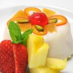 ピノサリーチェ - 「カッサータ」羊乳リコッタのケーキです