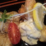 レストラン こつこつ亭 - 魚介フライ