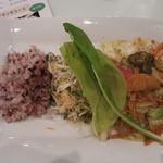産食 お肉&菜園料理 カムラッド - 東京野菜とケイジャンポーク