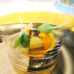 レストラン サンパウ - 下仁田ネギのカルソターダ