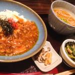 銀座 佐藤養助 養心蔵 - 豚うま煮丼セット